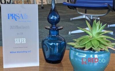 RED66 Marketing Wins a WMPRSA Silver PRoof Award for Best SEM